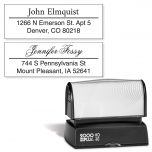 Accent Line Custom Address Stamp