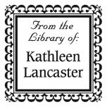 Bookplate Square Custom Address Stamp
