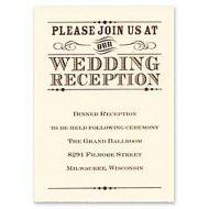 Carlson Craft Wedding 2015 123750 123733 Reception Card
