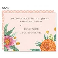 Bonnie Marcus Wedding 122893 122883 Response Card