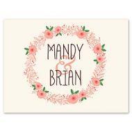 Bonnie Marcus Wedding 122896 122887 Thank You Note