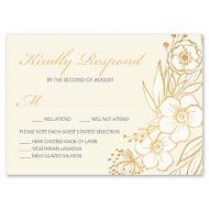 Bonnie Marcus Wedding 127411 127376 Response Card