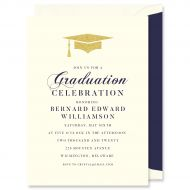 Graduation Cap Invitation