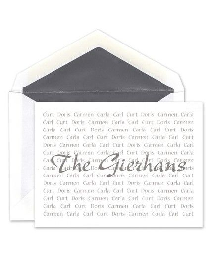 All in the Family Note Card
