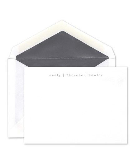 White Coal Flat Card