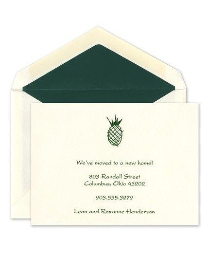 Pineapple Flat Card