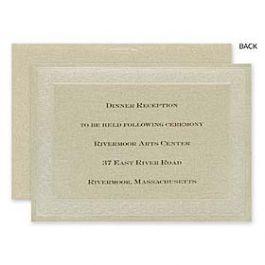 Carlson Craft Wedding 2015 123588 123584 Reception Card