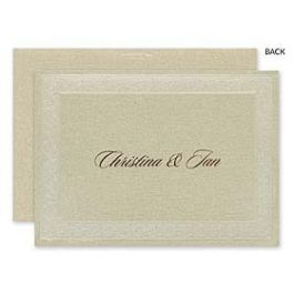 Carlson Craft Wedding 2015 123742 123584 Thank You Note