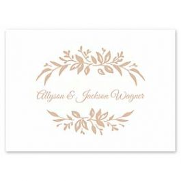 Carlson Craft Simple but Elegant 129007 128982 Thank You Note