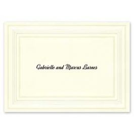Carlson Craft Simple but Elegant 129048 128996 Thank You Note