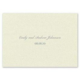 Carlson Craft Simple but Elegant 129051 128997 Thank You Note