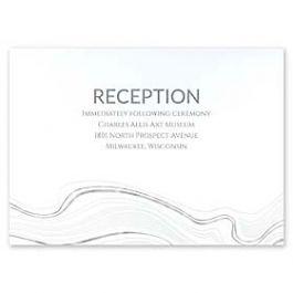 Carlson Craft Themes & Dreams 129132 129115 Reception Card