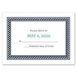 Carlson Craft Themes & Dreams 129137 129117 Response Card