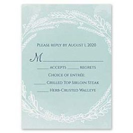 Carlson Craft Themes & Dreams 129149 129121 Response Card