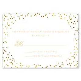 Bonnie Marcus Wedding 127399 127367 Response Card