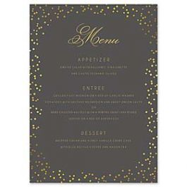 Bonnie Marcus Wedding 127401 127367 Menu Card