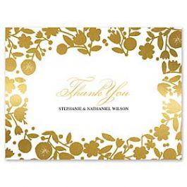 Bonnie Marcus Wedding 127404 127370 Thank You Note