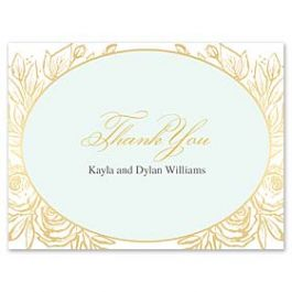 Bonnie Marcus Wedding 127408 127373 Thank You Note