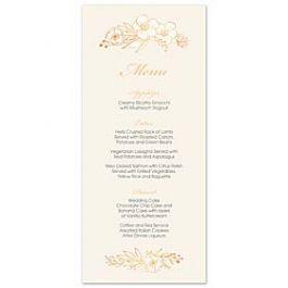 Bonnie Marcus Wedding 127413 127376 Menu Card