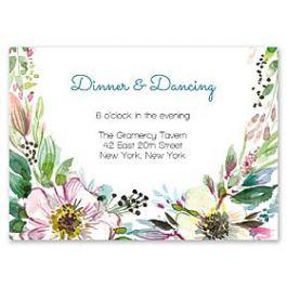 Bonnie Marcus Wedding 128842 128817 Reception Card