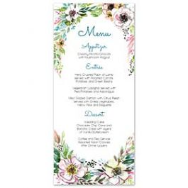 Bonnie Marcus Wedding 128843 128817 Menu Card