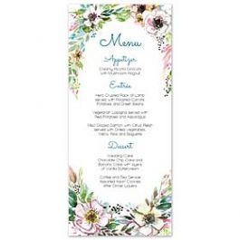 Bonnie Marcus Wedding 128843 128817 Menu Card