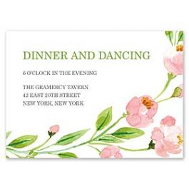 Bonnie Marcus Wedding 128846 128821 Reception Card