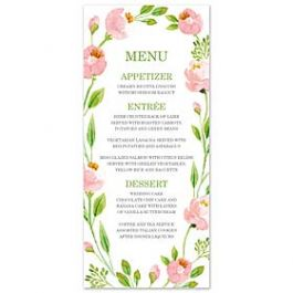 Bonnie Marcus Wedding 128847 128821 Menu Card