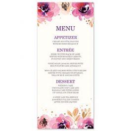 Bonnie Marcus Wedding 128851 128824 Menu Card