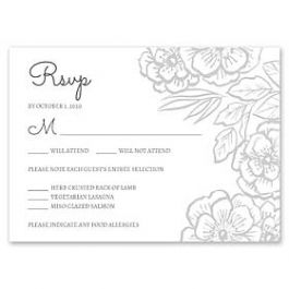 Bonnie Marcus Wedding 128853 128827 Response Card