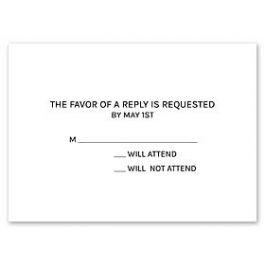 Stevie Streck Designs Everyday - L 125416 125307 Response Card