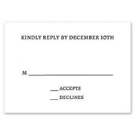 Stevie Streck Designs Holiday- L 126299 126285 Response Card