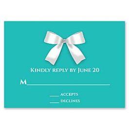 Paper So Pretty Wedding 125491 125488 Response Card