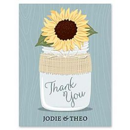 Paper So Pretty Wedding 125494 125490 Thank You Note