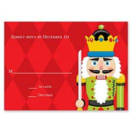 Paper So Pretty Holiday 126492 126489 Response Card