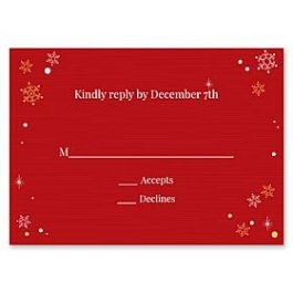 Paper So Pretty Holiday 126494 126491 Response Card