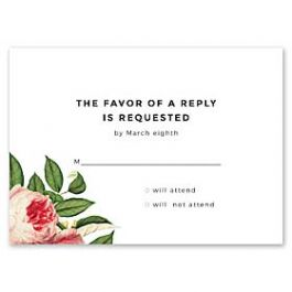 14 and Orange Wedding 128910 128878 Response Card