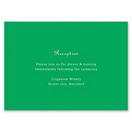 Real Simple Wedding 2014 121078 121076 Reception Card
