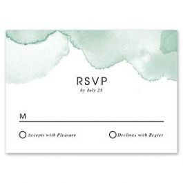 Celebrations Renee Pulve - Wedding 127467 127196 Response Card