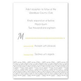 Celebrations Kelly Trench - Wedding 120692 120318 Response Card