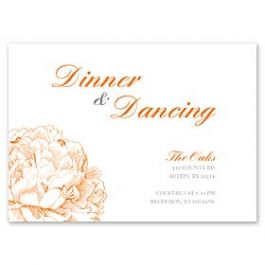 Celebrations Kelly Trench - Wedding 127162 127160 Reception Card
