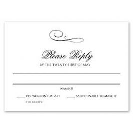 Celebrations Kelly Trench - Wedding 127165 127161 Response Card