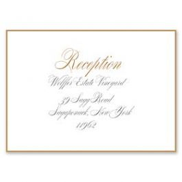 PostScript Press Wedding 121398 121360 Reception Card