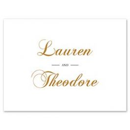 PostScript Press Wedding 121412 121369 Thank You Note