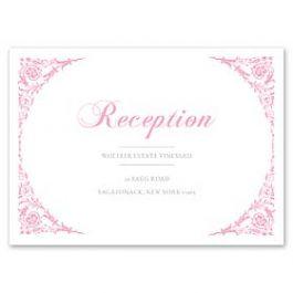 PostScript Press Wedding 121422 121378 Reception Card