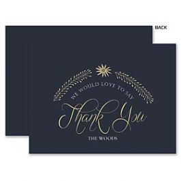 A Fresh Bunch Wedding 123973 123937 Thank You Note