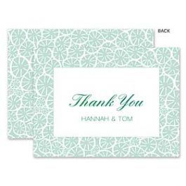 A Fresh Bunch Wedding 123976 123945 Thank You Note
