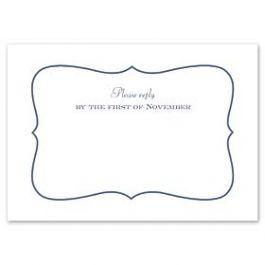 Truly by William Arthur Truly Weddings 123252 123192 Response Card