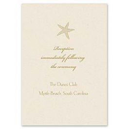 Truly by William Arthur Truly Weddings 123283 123208 Reception Card