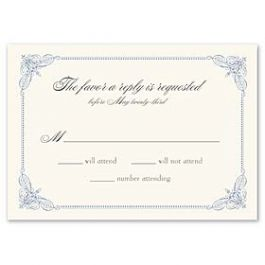 Truly by William Arthur Truly Weddings - Digital 123373 123300 Response Card